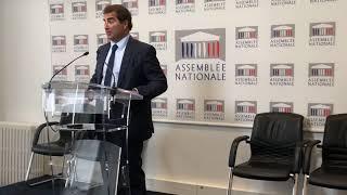 Conférence de presse de Christian Jacob du mardi 15 octobre 2019