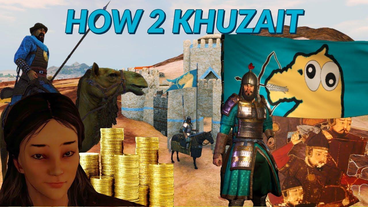 How to play the Khuzait Khanate