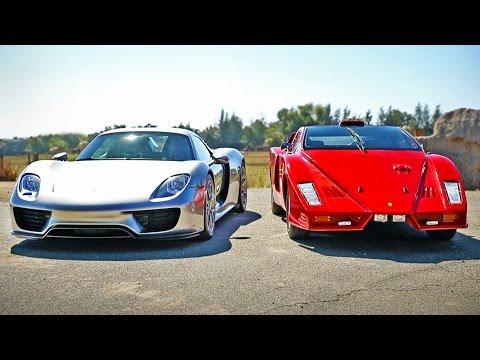 Porsche 918 Spyder vs Ferrari Enzo: Legendary Supercar Showdown