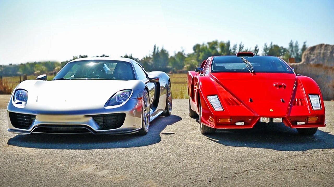 Porsche 918 Spyder vs Ferrari Enzo: Legendary Supercar Showdown - YouTube