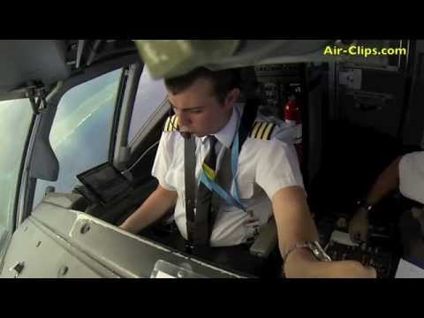 MUST SEE! 737-800 Palau Pacific Airways: Takeoff eye-to-eye with the Pilot flyig!  [AirClips]