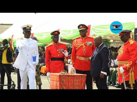 GAF newly commissioned officers: Asada Maxwell awarded Chief of Naval Price