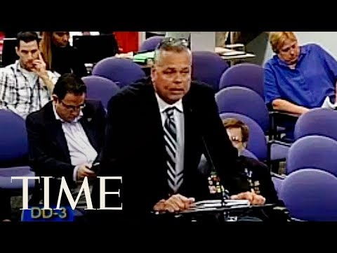 The Broward County Sheriff's Former Deputy Speaks At A School Board Meeting In 2015 | TIME