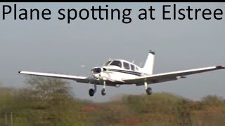 Arrivals and Departures at Elstree Aerodrome