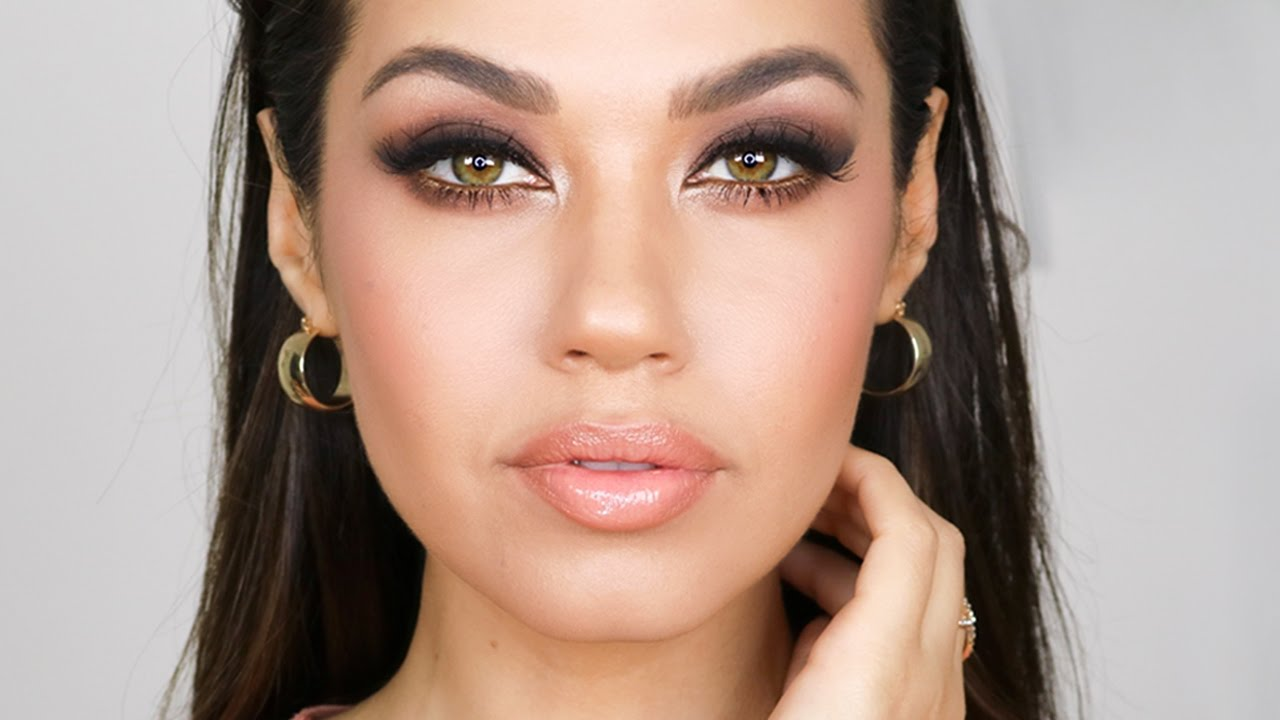 Grwm Easy Night Out Glam Makeup Tutorial Smashbox Cover