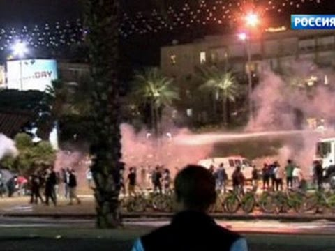 Беспорядки в Тель-Авиве