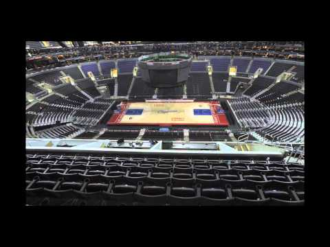 Staples Center Floor Change Kings to Lakers to Clippers