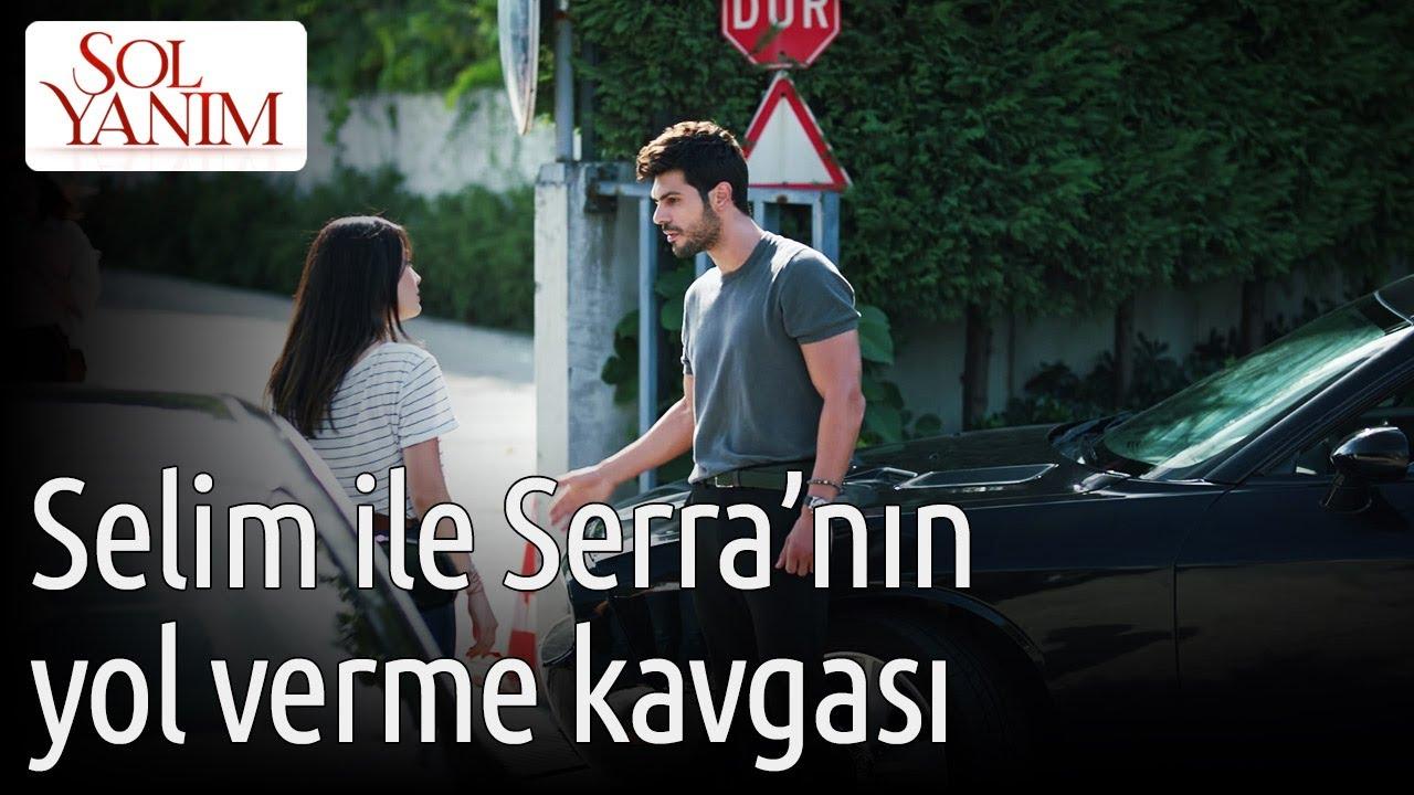Sol Yanım 1. Bölüm - Selim ile Serra'nın Yol Verme Kavgası
