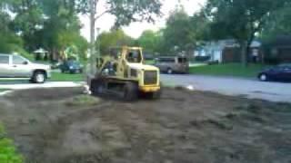 ASV  Track loader Bay Area Landscaping Grading