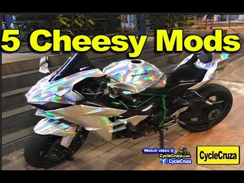 5 CHEESY Motorcycle Mods