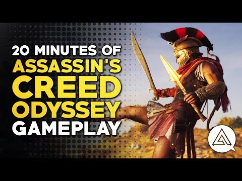 20 Minutes of Assassin's Creed Odyssey - Gameplay Part 1 thumbnail