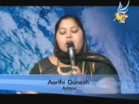 Actress Aarthi Ganesh testimony in Angel TV......