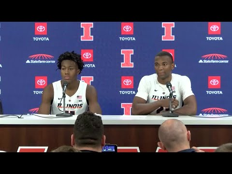 Illinois Basketball Postgame Press Conference vs. Evansville 11/8/18