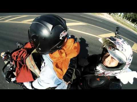 Hành chình phượt Lào Campodia  Việt Nam Thái Lan bằng xe moto của diễn viên Linh Sơn hót 8