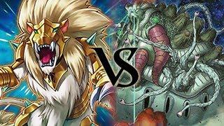 Aliens Vs Heraldic Beast - Yugioh Duel