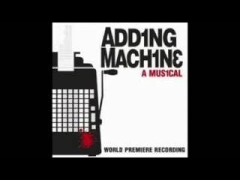 Clifford Morts as Mr Zero  Adding Machine: A Musical