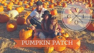 Pumpkin Patch Vlog | Nina Brock