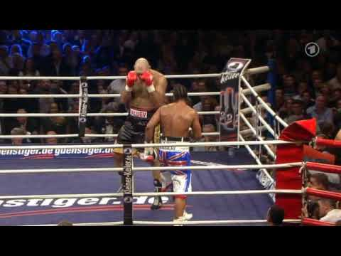 Valuev vs Haye (last round)