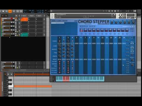 Chord Stepper Development Playing Around