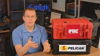 HPRC 2550W Vs Pelican 1510 - Carry-on Case Comparison Review