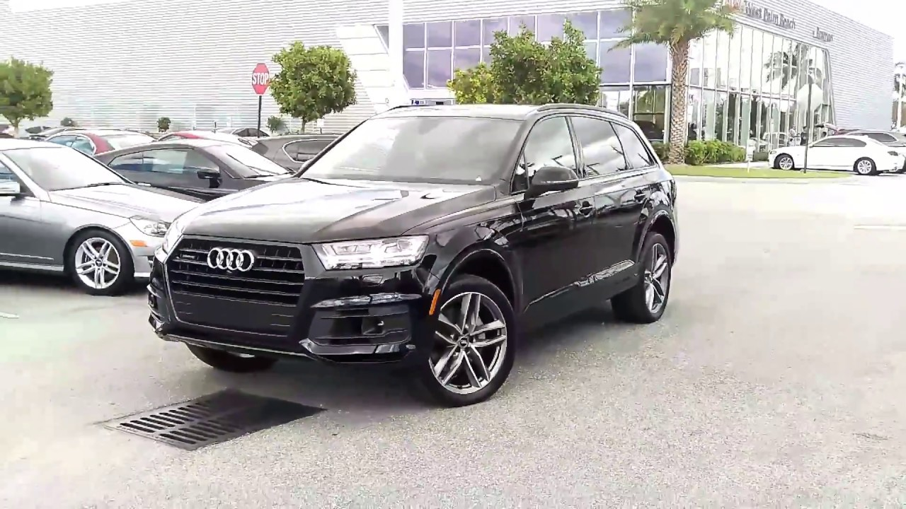 2017 Audi Q7 3 0t Prestige Anium Black Optic Package At Wpb