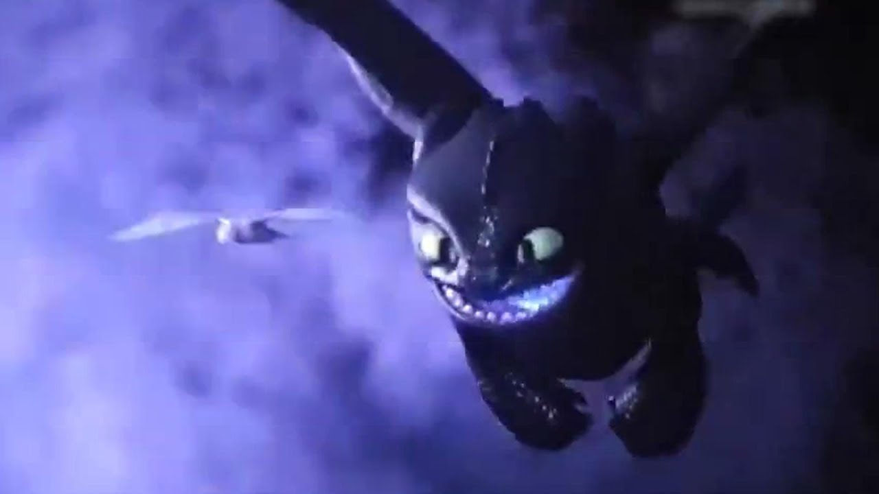 Toothless meets Light Fury and Dance Scenes |All Funny Scenes
