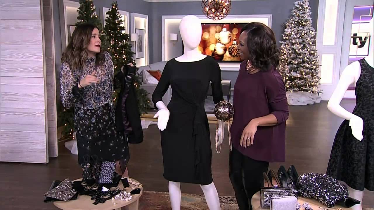 How to add sparkle to a little black dress - YouTube b262ea522