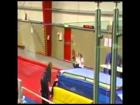 Fat Girl Gymnastics FAIL | fail gymnastics | gymnastics fails