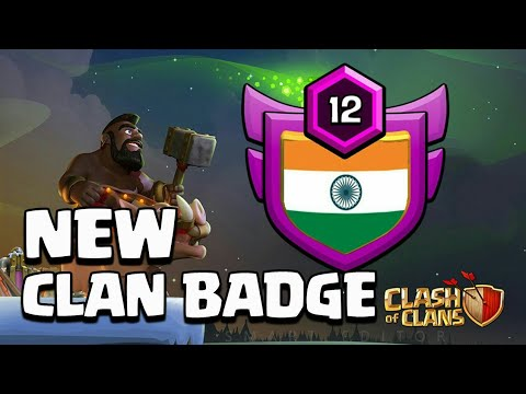 NEW 🇮🇳INDIAN CLAN BADGE (UPDATE CONCEPT) !!CLASH OF CLANs