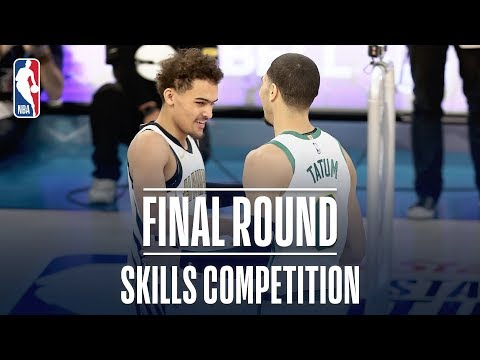 Skills Competition Final Round | Trae Young vs Jayson Tatum | 2019 NBA All-Star