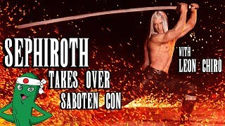 Sephiroth goes around Saboten Con, stabs a few people, takes a coup...