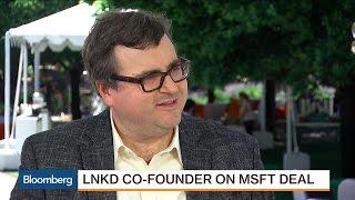 LinkedIn's Co-Founder Says Company Has 'Natural Synergy' with Microsoft