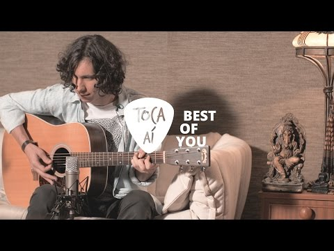 Best of You - Foo Fighters Gabriel Mezzalira cover acústico Nossa Toca