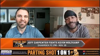 Shamrock FC 298's Jeff Carpenter looking to have a fun fight with Kevin Woltkamp