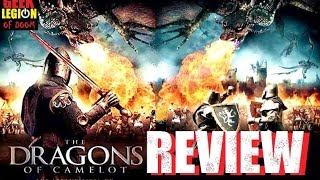DRAGONS OF CAMELOT ( 2014 Mark Griffin ) Fantasy Movie Review