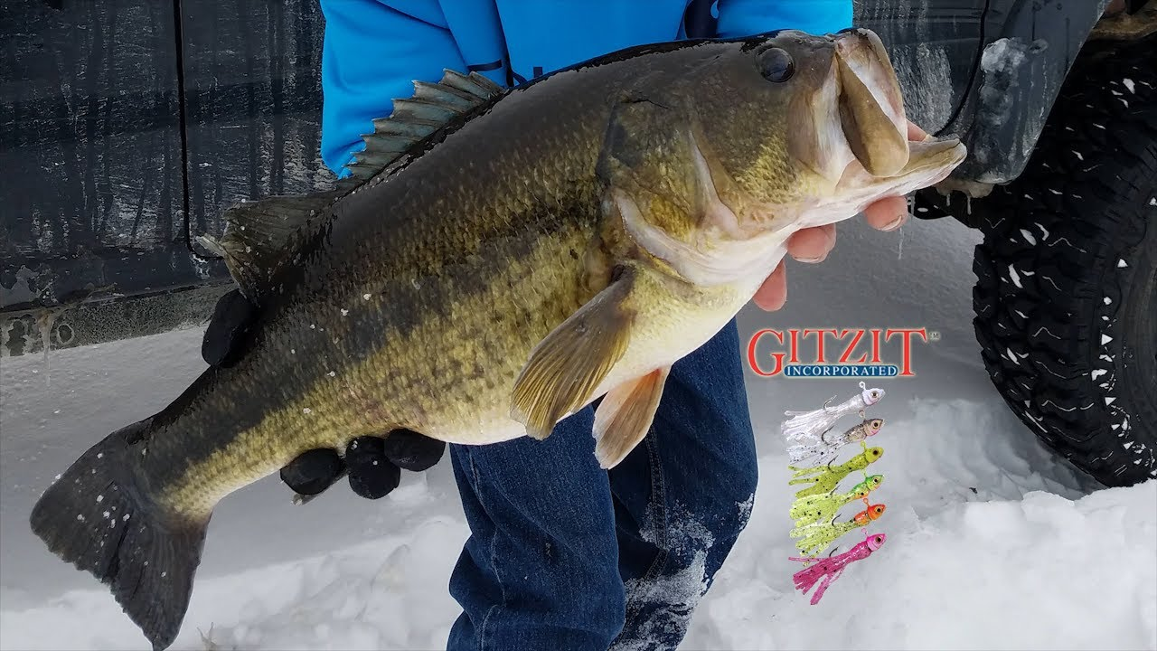 Best Bass Ice Fishing Lure Gitzit