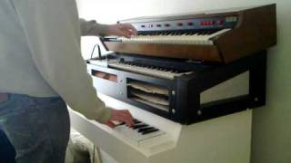 watcher of the skies intro mellotron m400 and arp solina string ensemble