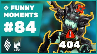 Error 404: Damage Not Found - Funny Moments #84 LCS \u0026 LEC