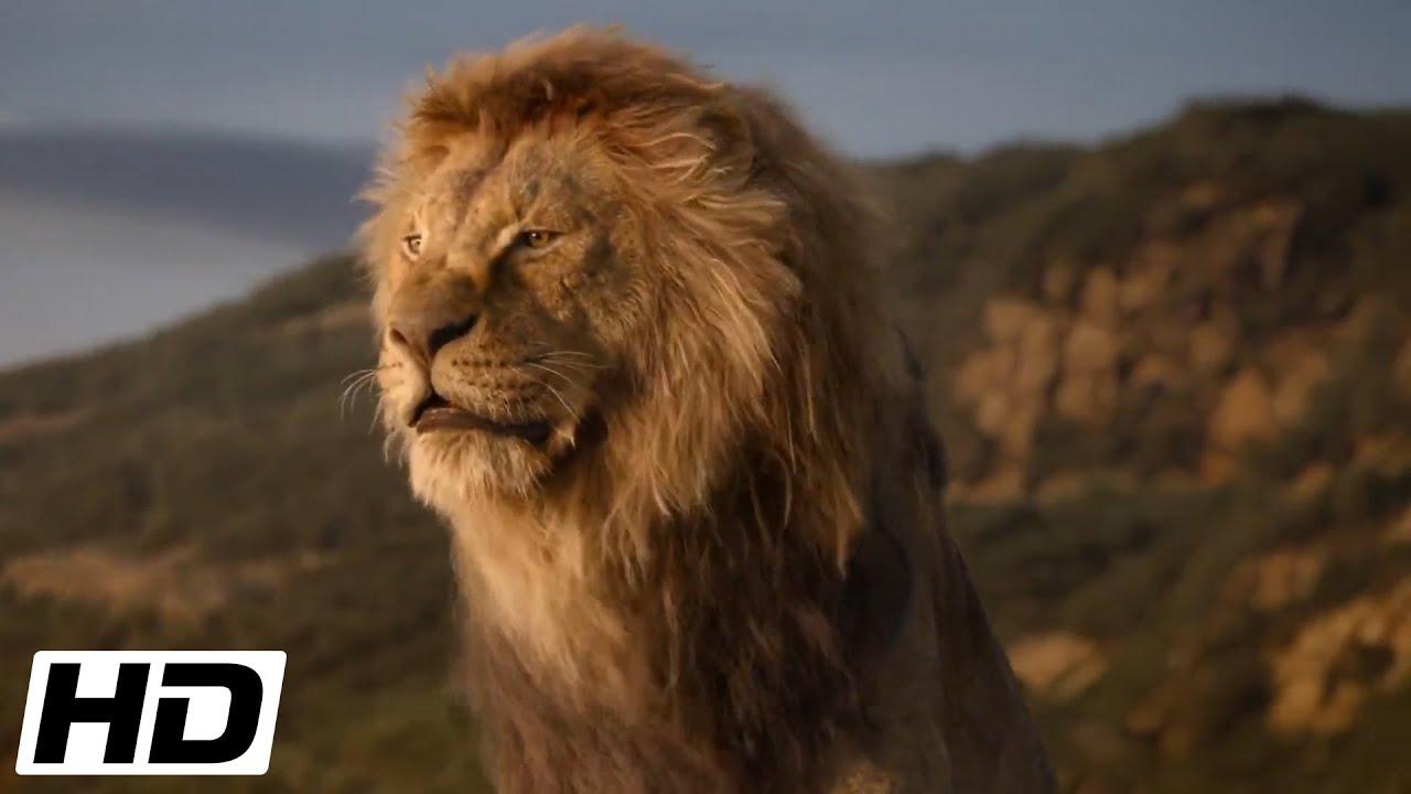 The Lion King 2019 Hd Mufasa Shows Simba Their Kingdom Youtube