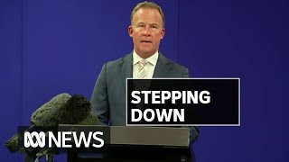 Tasmanian Premier Will Hodgman Resigns In Surprise Announcement | Abc News