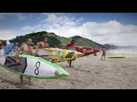 SUP technical race in Esmeraldas Alas Latin Pro