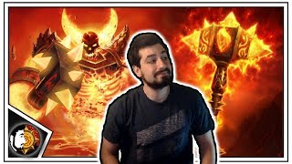 Hearthstone: Click Click Boom - Wild Quest Warrior - Rise Of Shadows