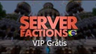 Novo servidor de factions 1.8 com vip gratis