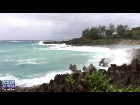 Hurricane Joaquin Approaches Bermuda, Oct 3, 2015
