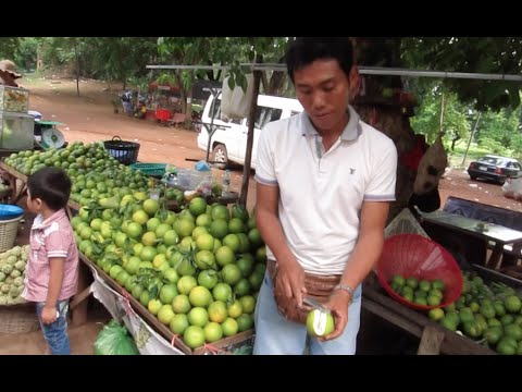 Orange at Battambang Province 40,000 Riel for 44 Fruits