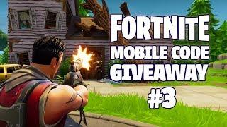 Fortnite Mobile - Beta Code Giveaway (Discord) #3