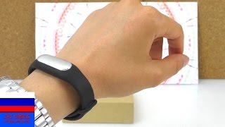 Фитнес трекер браслет Xiaomi mi считает шаги и сон обзор