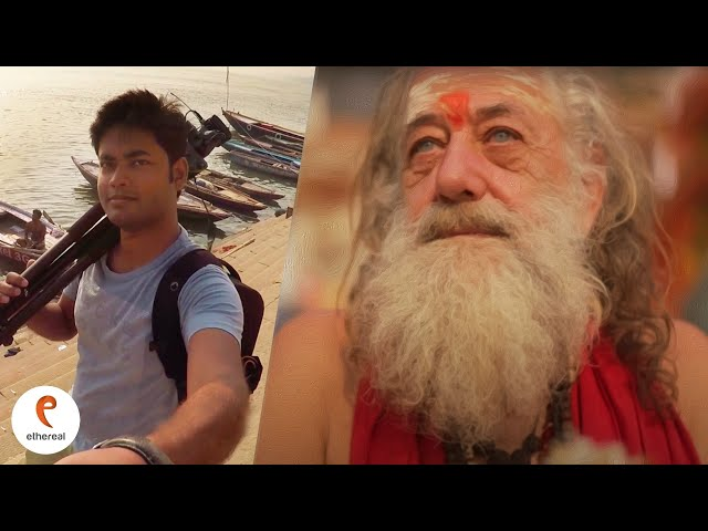 The Sadhu who came to Varanasi from Italy