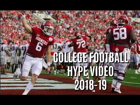 College Football Pump Up 2018-19 ||