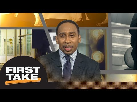 Stephen A. Smith loves Chris Paul's shimmy on Steph Curry during Game 5 | First Take | ESPN
